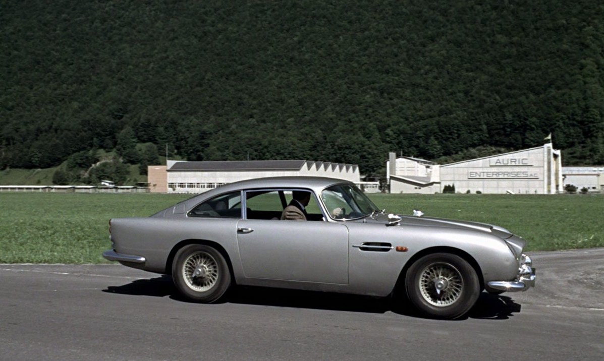 No Mr Bond I Expect You To Drive The History Of The Goldfinger