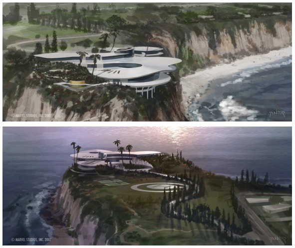 Stark Modernism – Tony Stark's Malibu home from Iron Man