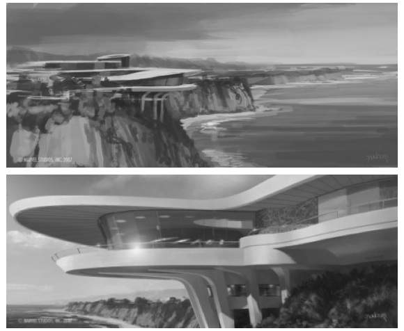 Stark Modernism Tony Stark S Malibu Home From Iron Man