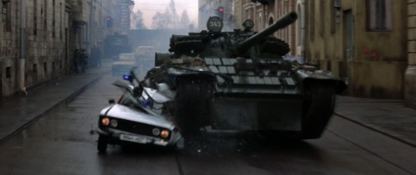 GE tank chase