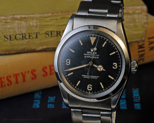 Rolex 1016 Explorer wristwatch, produced IV 1960